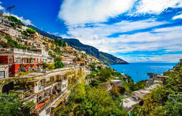 The Amalfi Coast Private Tour with minivan