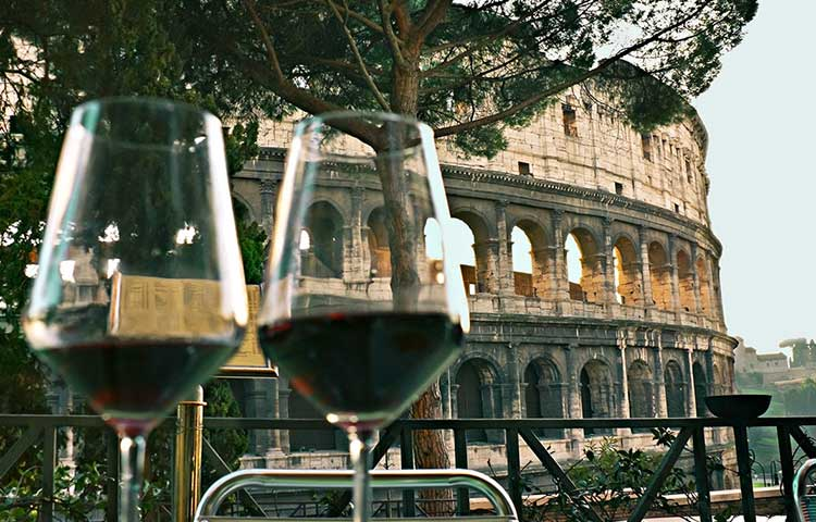 Private tour of Rome with aperitif