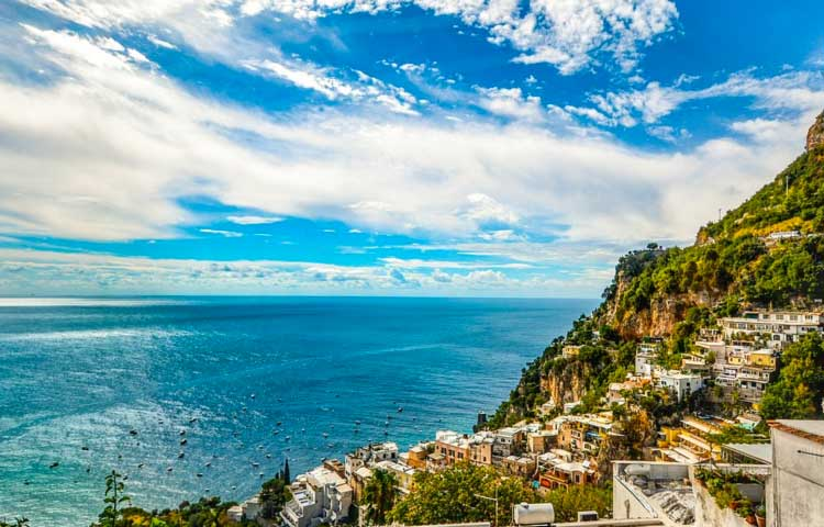 Tour Pompeii and Amalfi Coast
